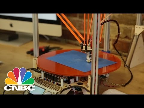 3-D Printing Made Affordable | CNBC