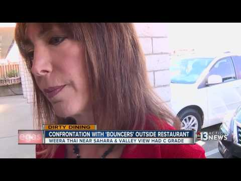 Confrontation outside Weera Thai on Dirty Dining