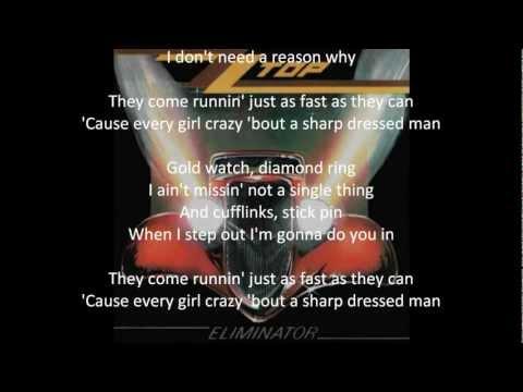 ZZ Top - Sharp Dressed Man (With Lyrics) (HQ)