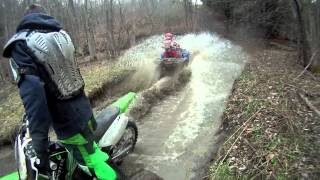 Atv Mudding and Dirt Bike