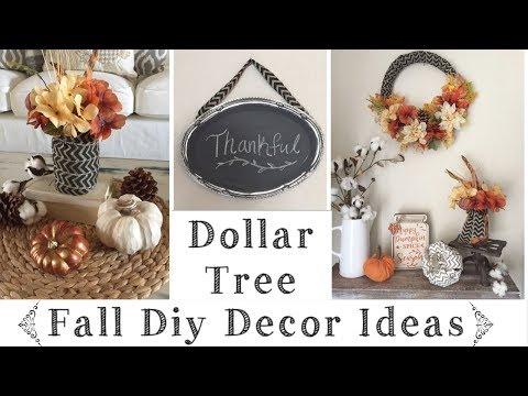 Dollar Tree DIY Rustic Fall Decor Ideas