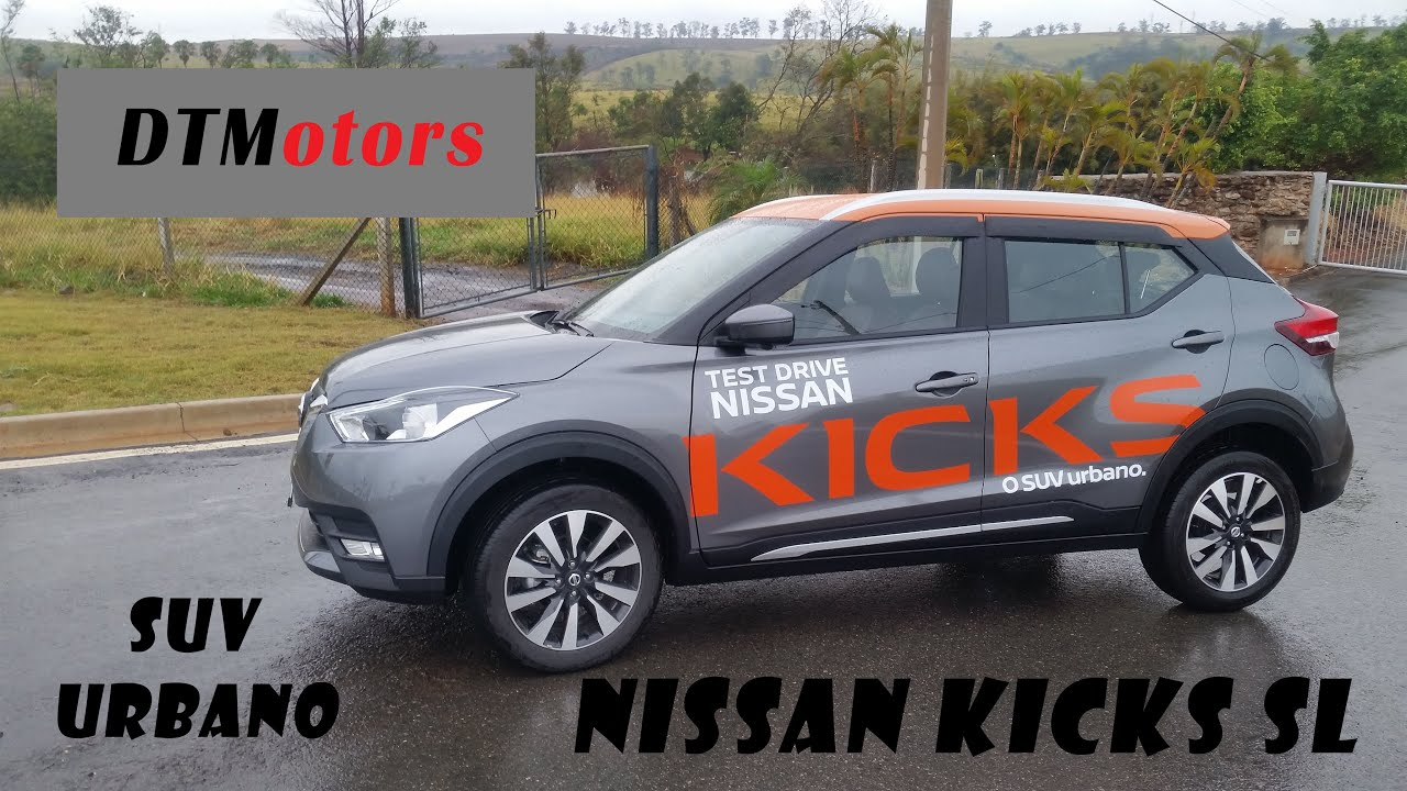 Novo Nissan Kicks Sl Cvt Dtmotors 51 Youtube