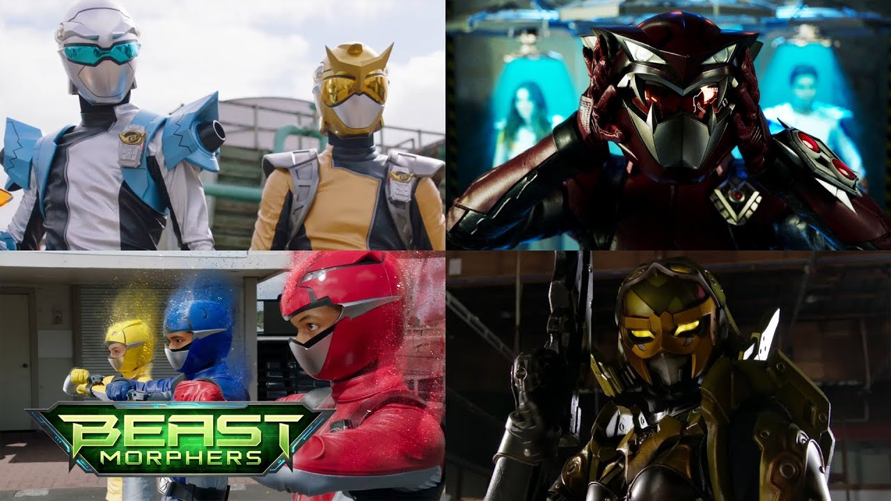 Download All Ground Battles in Power Rangers Beast Morphers Episodes 1-11 | Power Rangers Official