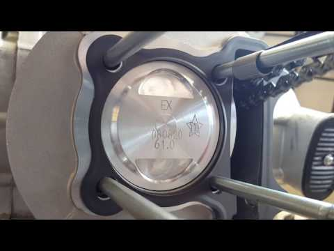 How to install 171cc Big Bore Kit on GY6 157QMJ Chinese Scooter Part #4