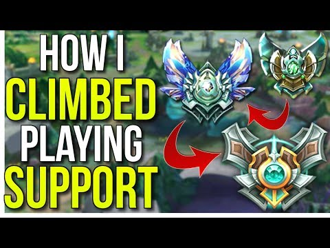 How I Climbed to Masters Playing Support - League of Legends