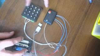 электронный кодовый замок своими руками (Coded lock, with his own hands)