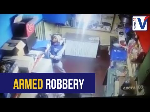 WATCH: CCTV footage of an armed robbery at a Durban bar