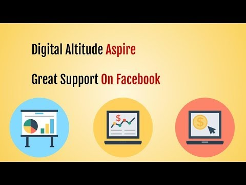 Digital Altitude Aspire - Facebook Group Support