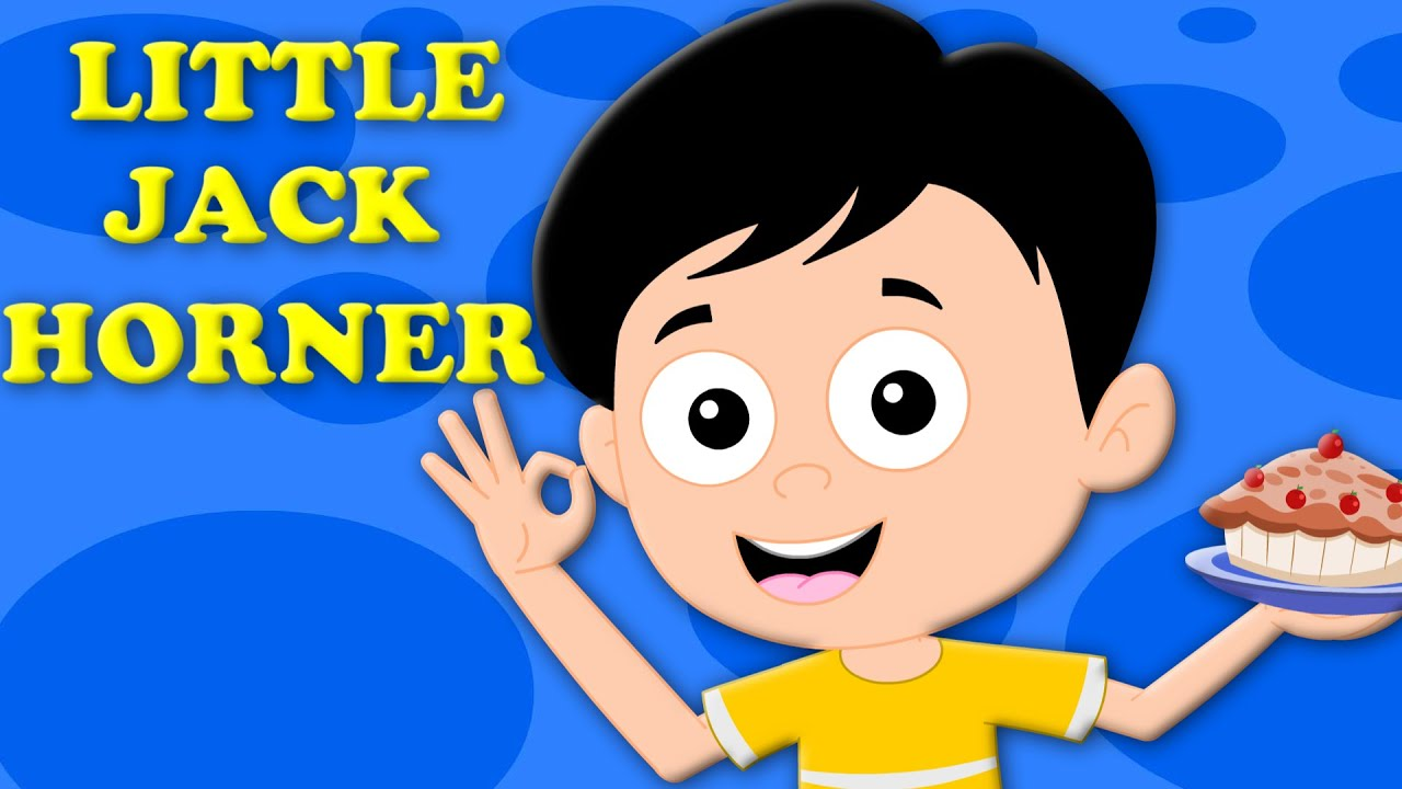little jack horner | original rhyme | kids songs | nursery rhyme | Kids Tv Nursery Rhymes