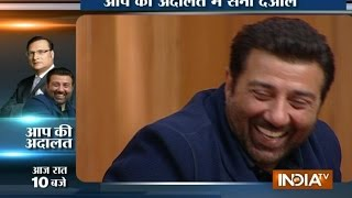 Sunny Deol in Aap Ki Adalat: I Don't Drink So I Don't Like Parties