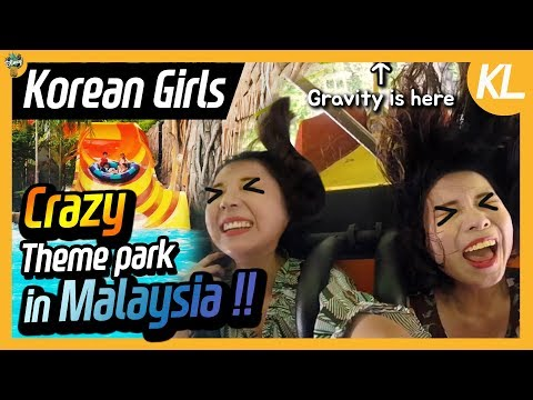 Korean Girls visit Theme Park in Malaysia 🍍 Sunway Lagoon ㅣ Blimey in KL Ep.07