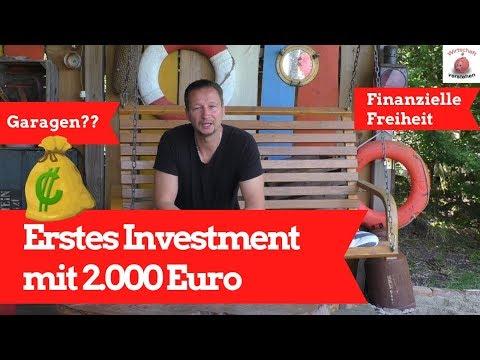 Mit 2.000 Euro das erste Investment - Die erste Immobilie: Eine Garage