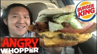 Burger King ANGRY WHOPPER Food Review #287
