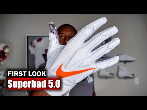 Nike Superbad 5 Football Gloves: First Impression