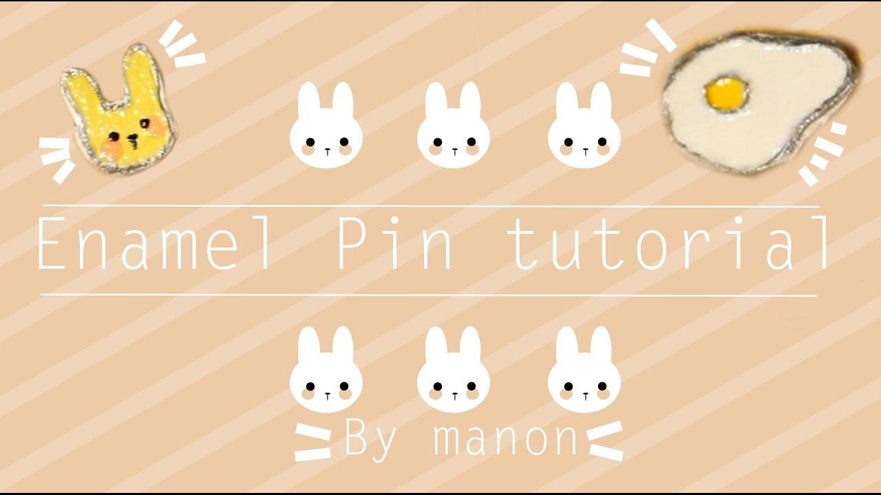 DIY Enamel Pins (from Scratch!)