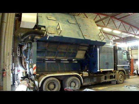 Вакуумный экскаватор ACTROS ремонт Vacuum Excavator Repair
