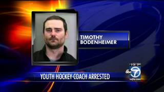 Va. man charged in child porn case connected to youth hockey