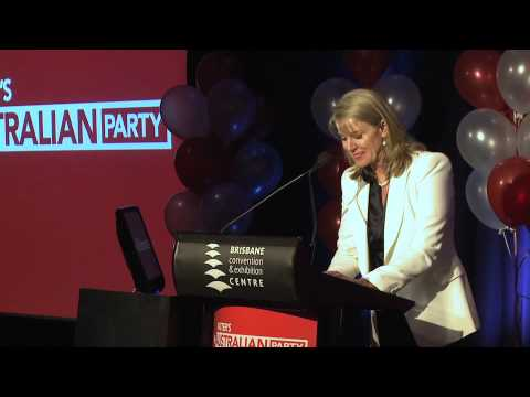 Heather Brown - Katter's Australian Party Conference