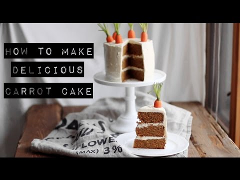 The Making Of The Best Carrot Cake Ever!
