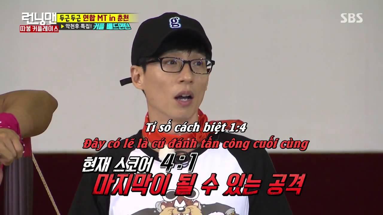 Running Man tập 307 VietSub - Kwang Soo Lee plays badminton