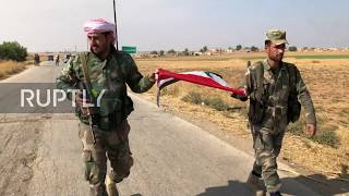 Syria: Syrian Arab Army advances in Hasakah countryside