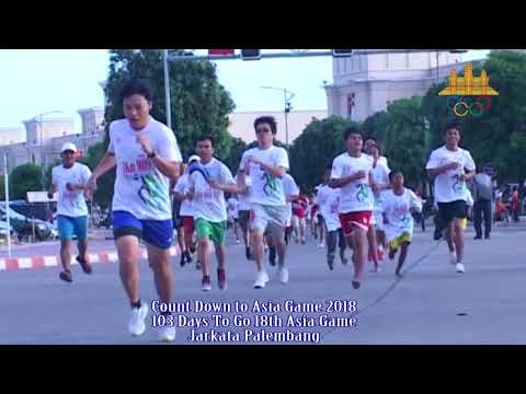 Fun Run For Asian Game 2018