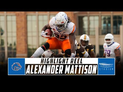 Vikings Blog - Look at the POWER in Alex Mattison's college highlight reel 💪