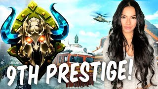 9TH Prestige/DIAMOND Camo Grind with Gala! BO4 Live Multiplayer Gameplay