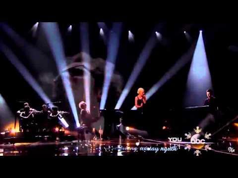 [Vietsub + Kara] Say Something - A Great Big World ft. Christina Aguilera (Live AMA 2013)