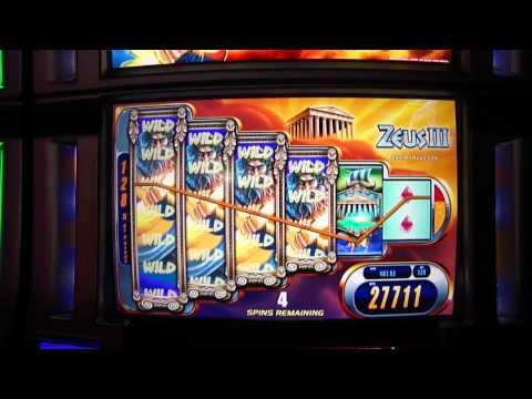 Video Max bet slots bonus