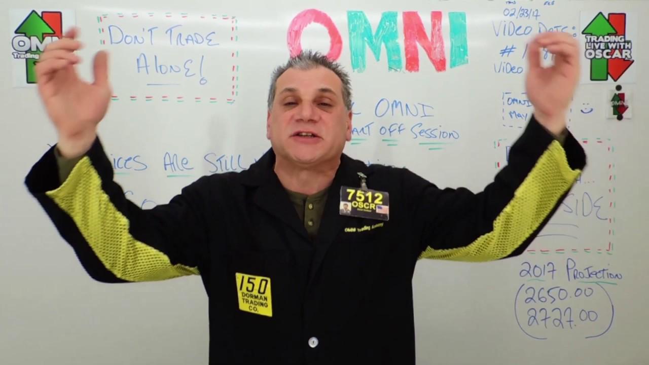 Oscar Carboni Says Green OMNI NQ & Gold Not So In Crude ...