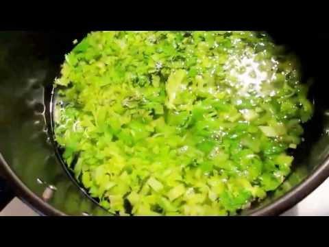 Easy Celery Soup (CAN BE VEGAN OR VEGETARIAN )