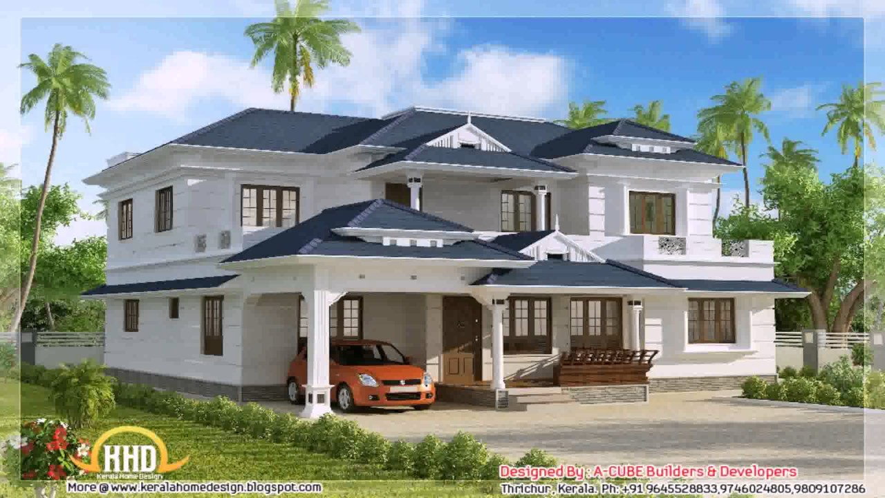 Free house plans kerala style photos youtube for Free house photos