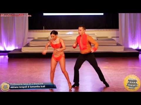 WSS16 Feb4. Professional Salsa On 2 Showcase Semis