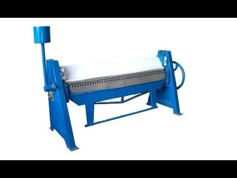 Manual folding machine, metal sheet bending machine by hand