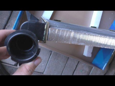Алюминиевый радиатор вместо медного на ВАЗ-21013