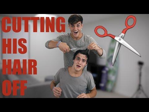 CUTTING ETHAN'S HAIR OFF!!