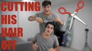 Download CUTTING ETHAN'S HAIR OFF!! Mp3 and Videos