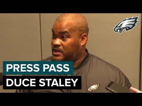 Duce Staley Analyzes Philly RBs Smallwood, Clement & Adams | Eagles Press Pass