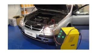 Carbon Cleaning sur Citroën Xsara , nettoyage moteur
