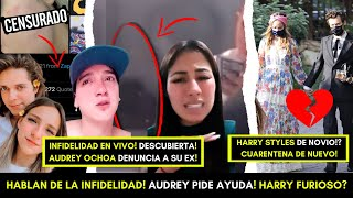 INFIDELIDAD SE HACE VIRAL! MAYITA Y ANTHONY SWAG RESPONDEN! AUDREY DENUNCIA A RICKY! HARRY STYLES!