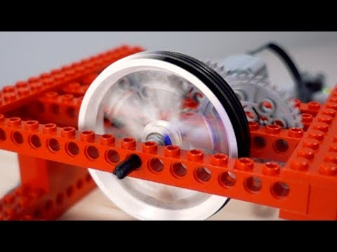 Spinning a Lego Wheel FASTER