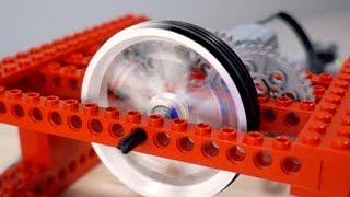 Spinning a Lego Wheel FASTER - Over 17,000 RPM!