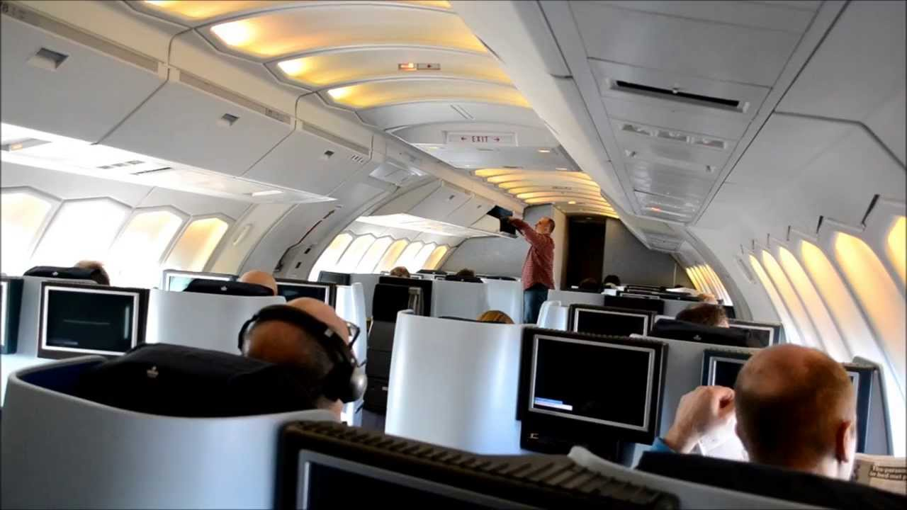 Klm Business Class New Lie Flat Seats Youtube