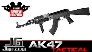 AK47 TACTICAL JING GONG | RECOMENDADA PRINCIPIANTES | Airsoft  Review en Español (Test Shot&Chrono)