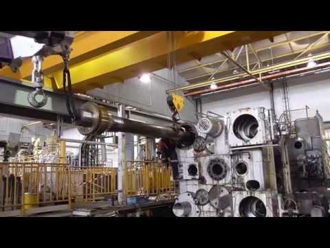 2500 hundred ton Die Casting Machine Dismantling