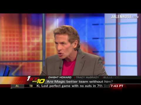 Magic better without Dwight Howard?  Jalen Rose and Skip Bayless debate on First Take