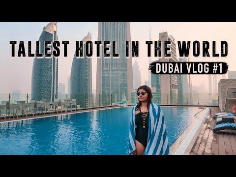 FAMILY TRIP TO DUBAI VLOG | Staying in the WORLD's TALLEST HOTEL in Dubai | Kritika Goel