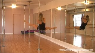 Beginner Pole Dance Routine * Step by Step Online Pole Dancing Lessons At Home * PART 3