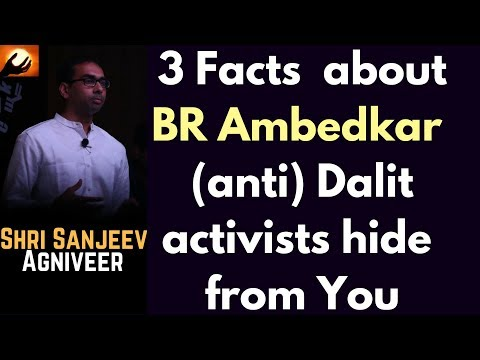 3 Facts about BR Ambedkar 'anti'-Dalit activists like Kancha hide from you (Plus a bonus)